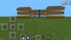 This is my house that I made on minecraft pocket edition