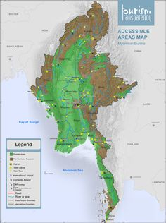 Evolution of the No Go Zones in The Republic of Myanmar | Tourism Transparency