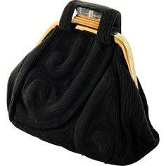 Vintage Purses, Vintage Bags, Vintage Handbags, Vintage Shoes, Vintage Accessories, Vintage Ladies, Vintage Outfits, Fashion Accessories, 1940s Fashion