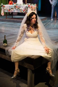 The Taming of the Shrew. Nell Geisslinger as Kate. Oregon Shakespeare Festival.