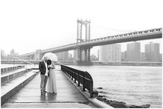 www.ayenianour.com  Romantic Rainy Day Engagement Session in Brooklyn New York  Ayenia Nour Photography