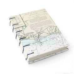 Cape Cod Journal - Harwich Port #bookbinding by Ruth Bleakley