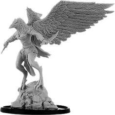 Agni, Hrafnmann Warrior Bird People, Lion Sculpture, Miniatures, Statue, Accessories, Art, Art Background, Kunst, Mini Things