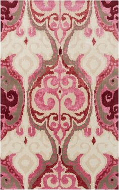 Buy the Surya Pink Direct. Shop for the Surya Pink Banshee x Rectangle Wool Hand Tufted Eclectic Area Rug and save.