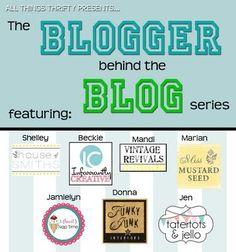 Blogging 101 Series: Blogger behind the Blog.
