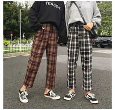 Korean Outfits, Retro Outfits, Cute Casual Outfits, Grunge Outfits, Vintage Outfits, Vintage Pants, Summer Outfits, 90s Fashion, Fashion Outfits