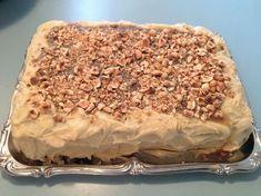 I Love Food, Good Food, Scandinavian Food, Danish Food, Honey Cake, Swedish Recipes, Pear Cake, Sweets Cake, Food Cakes