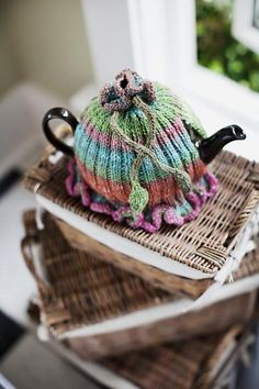 Ribbed & Ruffled Tea Cozies