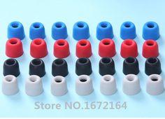 Earbuds triple driver memory foam - small earbud covers foam