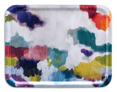 Watercolour rectangle tray