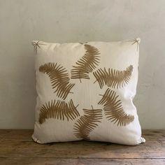 """LL textiles """"fern star"""" pillow – Lauren Liess Boho Pillows, Throw Pillows, Lauren Liess, Fern Frond, Star Designs, Ferns, Line Drawing, Textiles, Stars"""