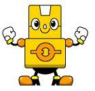 かわいいロボットの無料イラスト|フリー素材|素材のプチッチ