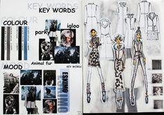 [ESKIMO] Moodboard by IFA Paris Student in Bachelor Fashion Design design student Log in Mode Portfolio Layout, Fashion Portfolio Layout, Fashion Design Sketchbook, Fashion Sketches, Portfolio Design, Portfolio Ideas, Drawing Fashion, Dress Sketches, Sketchbook Layout