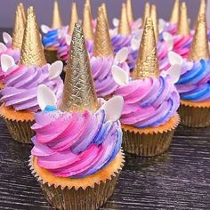 🦄 These look delicious! I could eat Anyone else? 😍 🤤 Unicorn Cake… 🦄 These look delicious! I could eat Anyone else? 😍 🤤 Unicorn Cake…,Lila's Unicorn Party 🦄 These look delicious! Unicorn Birthday Parties, Girl Birthday, Birthday Ideas, Birthday Cupcakes, Birthday Nails, Wedding Cupcakes, Wedding Cake, Unicorn Foods, Unicorn Cakes