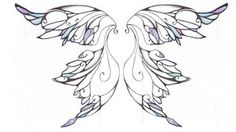 ever after fairy wing patterns   Fairy Wings Tattoo