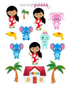 Disney LILO & STITCH Inspired Themed Sticker by PlanwithPizazz
