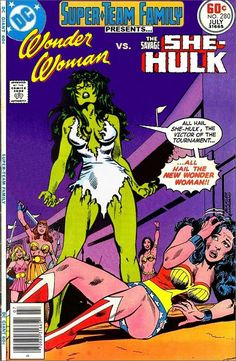 Super-Team Family: The Lost Issues!: Wonder Woman and She-Hulk
