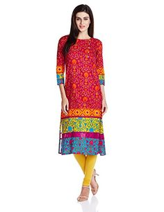 Vishudh Women's Straight Kurta