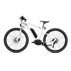 BMW Cruise E-Bike Frozen Brilliant White Metallic with Black Saddle