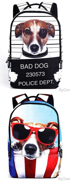 Punk Starry Sky Large Travel Backpack Cute Dog Panda Cat Animals Galaxy Backpack for big sale! #sky #large #backpack #dog #Panda #cat #animal #galaxy #bag