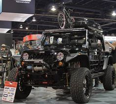 jeep wrangler - The Bushwacker, all decked out!