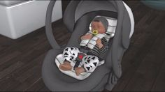 TS3 | Tumblr | newborn | car seat