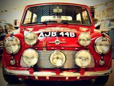 Classic Mini Rally Car