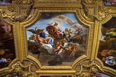 Plafond du Salon de Mercure –Versailles.