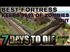 How To Build Best Fort or Base - 7 Days To Die - Alpha 2 - YouTube 7 Days To Die, Board Games, Video Games, Gaming, Base, Toys, Building, Youtube, Collection