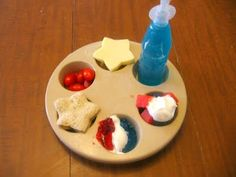 Tots and Me: Muffin Tin Monday: Red, White and Blue