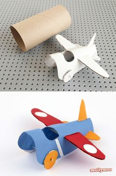 Toilet Paper Roll Crafts - Get creative! These toilet paper roll crafts are a great way to reuse these often forgotten paper products. You can use toilet paper rolls for anything! creative DIY toilet paper roll crafts are fun and easy to make. Kids Crafts, Toddler Crafts, Projects For Kids, Diy For Kids, Arts And Crafts, Easy Crafts, Easy Diy, Toilet Paper Roll Crafts, Cardboard Crafts