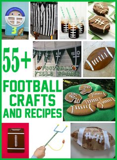 Are you and your kids diehard football fans? Then you'll love all the football crafts we have collected. Below are...