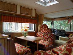 Vintage Motorhome Interior dinette by opensky83, via Flickr