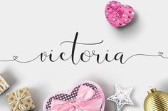 Victoria is handmade script font cooked with feeling. Including a tons of glyphs, initial and terminal letters, alternates, ligatures. Tattoo Nombres, Victoria Tattoo, Victoria Name, Font Packs, Web Design, Graphic Design, Handwritten Script Font, Script Typeface, Envato Elements