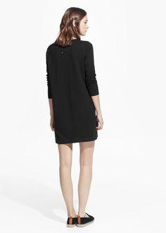 Basic tricot jurk