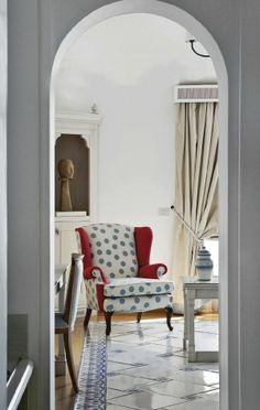 Decorating with Polka Dots  #design #interior #interior_design