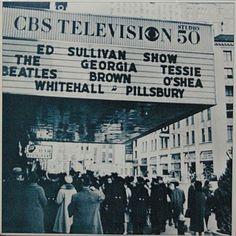 beatles ed sullivan show 1964 | フロント