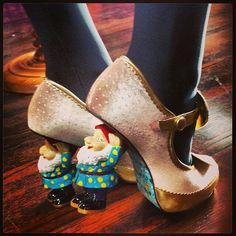 """Kat Von D's Awesome """"Shoes of the day"""""""