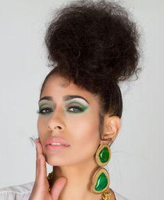 ON SALE Green Gemstone Earrings Green Agate by ChandraJewelry