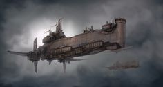 Crusader Class Zeppelin- The Crusader can rain down pain from above from heights of 15,000 ft and carries a fleet of 15 Condors and 25 Reapers.
