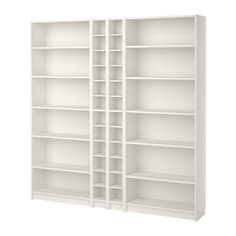 IKEA - BILLY / GNEDBY, Bookcase, white, , Adjustable shelves; adapt space between shelves according to your needs.