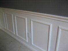 Home Improvement Hacks. - Install Wainscoting Without Power Tools - Remodeling Ideas and DIY Home Improvement Made Easy With the Clever, Easy Renovation Ideas. Kitchen, Bathroom, Garage. Walls, Floors, Baseboards,Tile, Ceilings, Wood and Trim. http://diyjoy.com/home-improvement-hacks