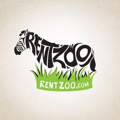 I chose this ad because it grabs your attention right away.  The use of the text in creative form for 'RentZoo' ties in with the stripes for the zebra.  The grass below is also in a bright enough color to draw your eyes to their website address as the text has a no-fill so it is quite prominent.  I really like the overall simplicity of this design.