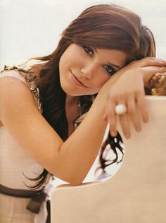 Sophia Bush, the actor who plays Brooke on One Tree Hill. :D She is beautiful and classy, and I think she's amazing! <3