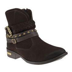 Bota Dakota B6082 - Chocolate/Café (Nobuck Artigas) - Calçados Online Sandálias, Sapatos e Botas Femininas | Katy.com.br