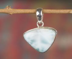 Silver Pendants – Larimar Pendant, 925 Silver Pendant, Gypsy Pendant – a unique product by Midas-Jewelry on DaWanda