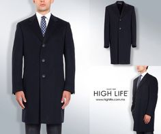 Un abrigo tipo topcoat llega hasta la rodilla y suele ser de materiales más ligeros. #HighLife