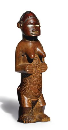 Bembe female figure, Democratic Republic of the Congo | lot | Sotheby's
