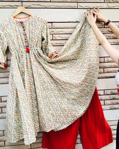 Stylish Dresses, Casual Dresses, Fashion Dresses, Girls Dresses, Frock Fashion, Casual Wear, Women's Fashion, Pakistani Outfits, Indian Outfits