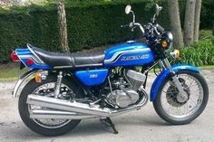 Bike of the Day: 1973 Kawasaki KH750 H2